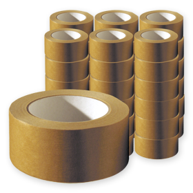 Papier-Packband Sparpack, 50 mm, 50 m, 110 µm